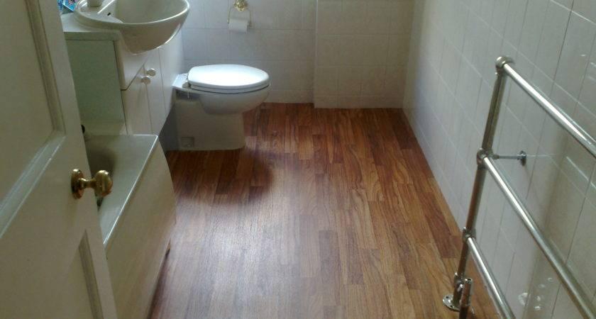 Wood Flooring Bathroom