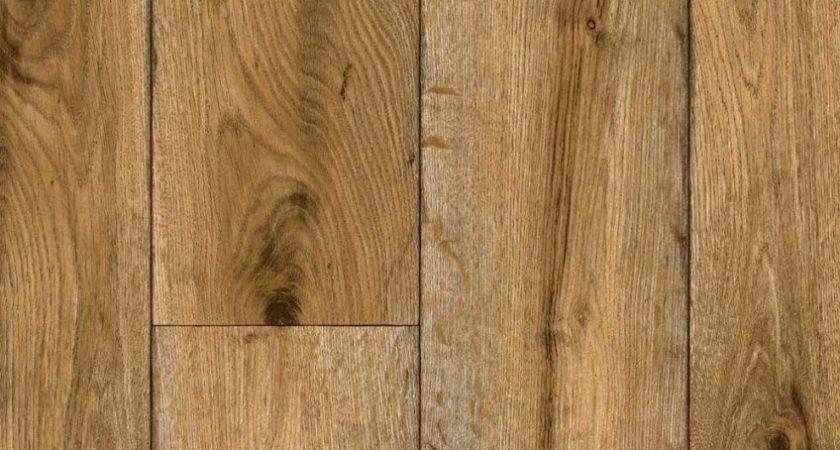 Wood Grain Sheet Vinyl Flooring Resilient