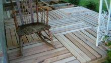 Wood Pallet Deck Ideas Home Design