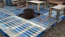 Wood Pallet Deck Ideas Houz Buzz