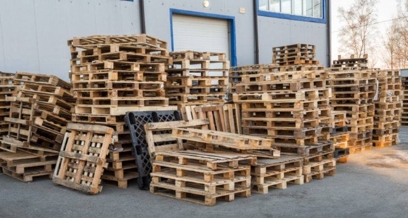 Wood Pallets Block Stringer Pallet
