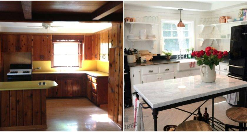 Wood Paneling Makeovers
