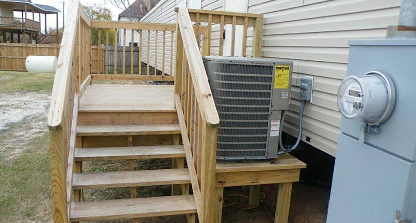 Wood Porches Mobile Homes
