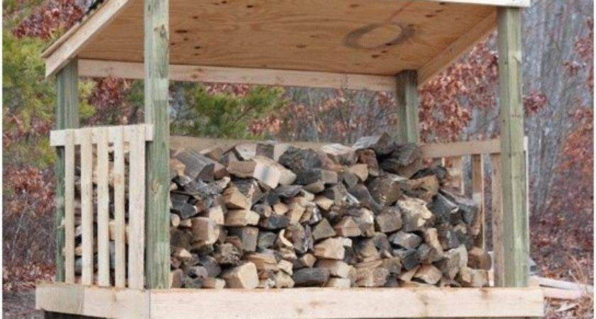 Wood Shed Made Pallets Few Things July
