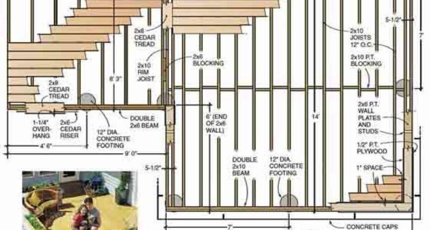 Wooden Deck Plans Pdf Woodworking