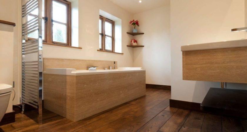 Wooden Flooring Your Bathroom Right Choice