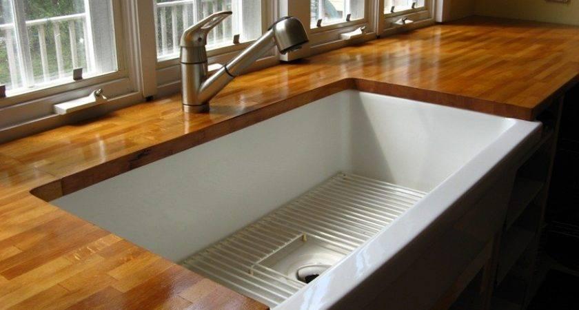 Wooden Inexpensive Kitchen Countertops Ideas Kitchentoday