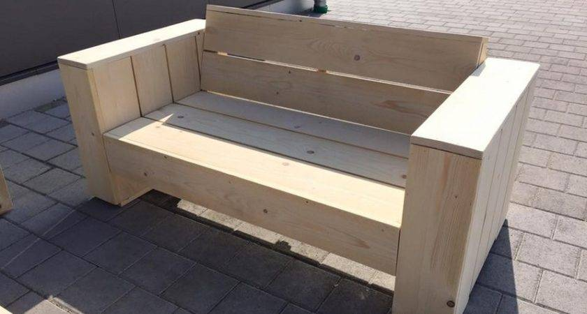Wooden Pallet Patio Couch Set Ideas Recycled