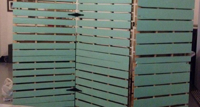 Wooden Pallet Room Divider Pallets Designs