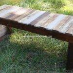 Wooden Pallet Sitting Bench Plans Wood Projects