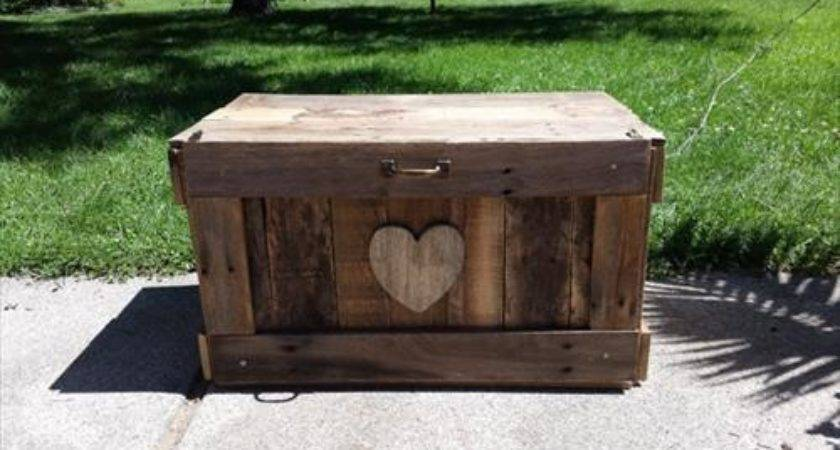 Wooden Pallet Trunk Ideas Diy Pallets Designs