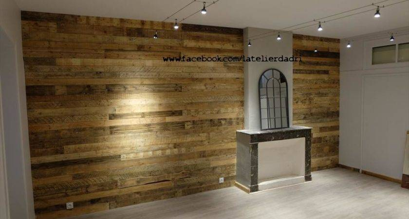 Wooden Pallet Wall Paneling Furniture Plans