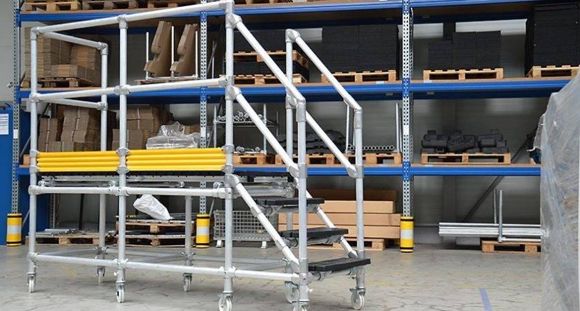 Work Platforms Steel Walkways Fall Protection