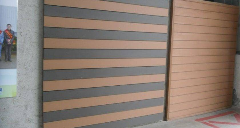 Wpc Cladding Siding Panel Exterior Wall Designs Buy