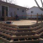 Wrap Around Deck Steps Decks Fences Ryan