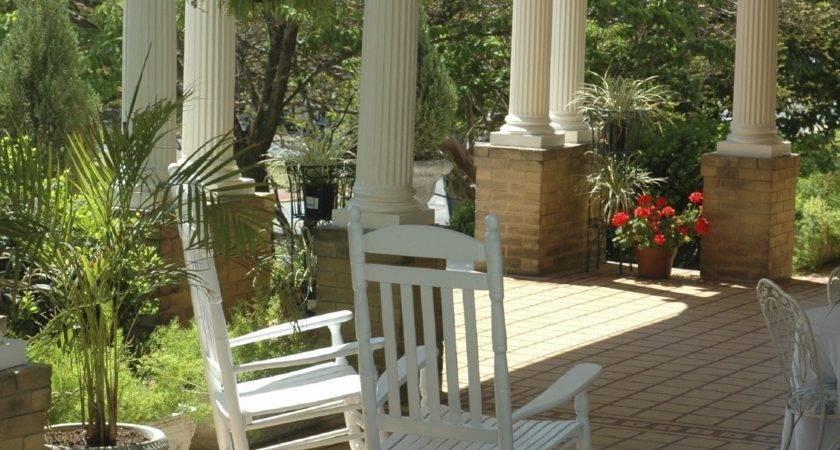 Wrap Around Porch Round Columns