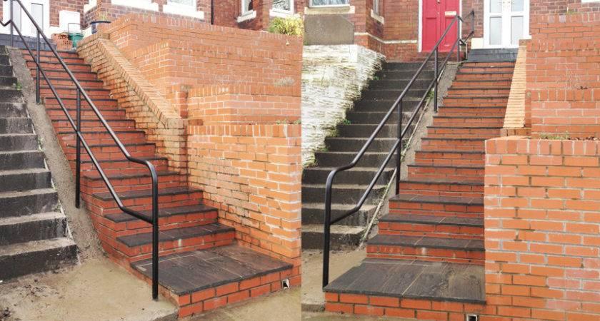 Wrought Iron Stairs Hand Rails Balconies Designed