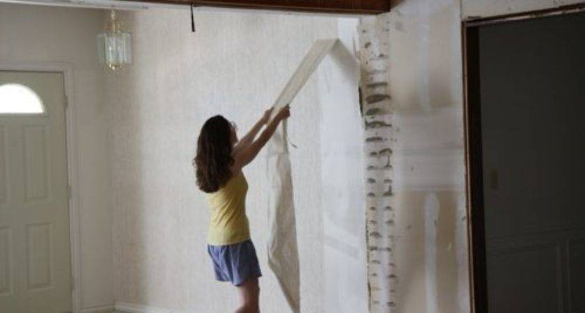 Yes Can Remove Unprimed Drywall