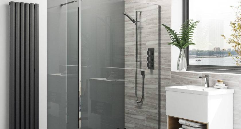 Zenolite Plus Ash Acrylic Shower Wall Panel