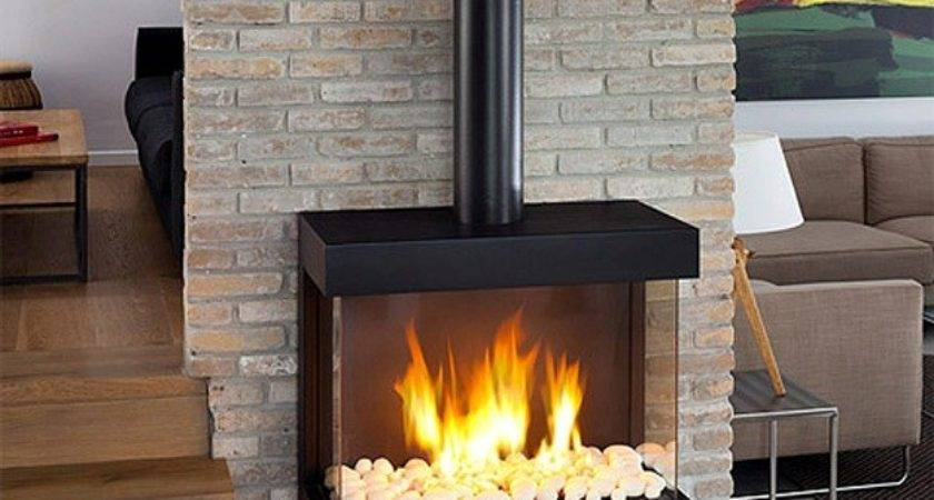 Zero Clearance Wood Pellet Stove Home